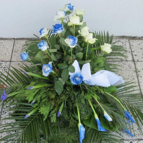 Pohrebný veniec 134