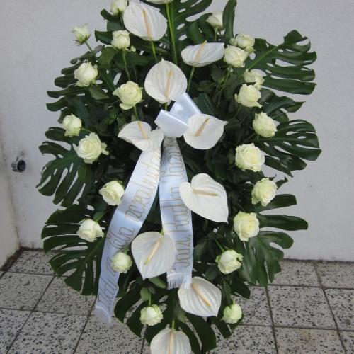 Pohrebný veniec 111