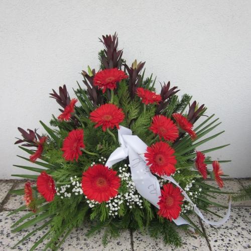 Pohrebný veniec 114